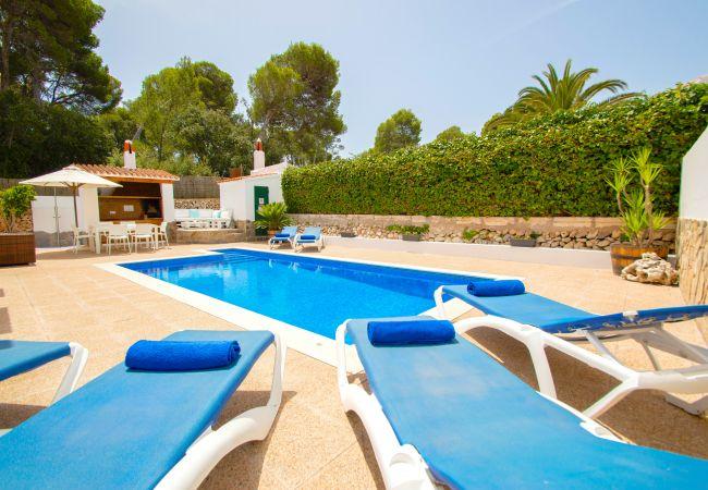 Villa en Cala Galdana - Villa Albe